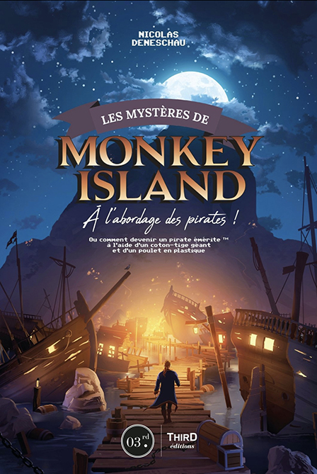 Alternate cover of Monkey Island book