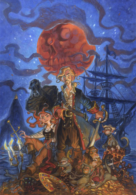 Cover of Monkey Island book