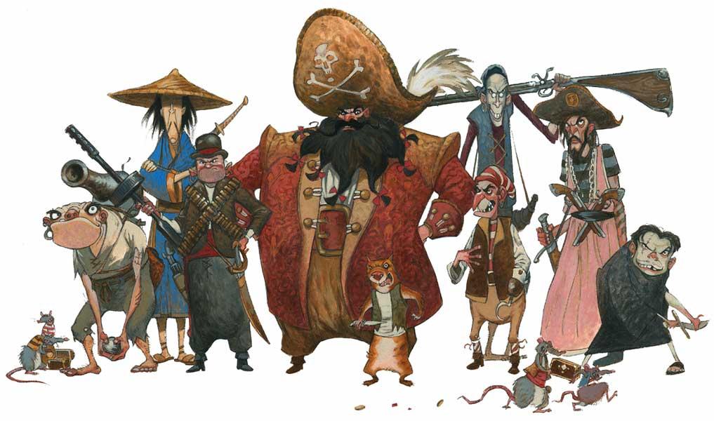 Female Characters From Treasure Island